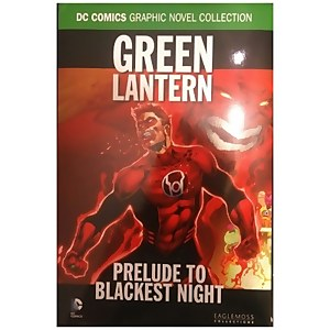 DC Comics Graphic Novel Book Prelude to Blackest Night