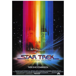 Star Trek There Is No Comparison Poster