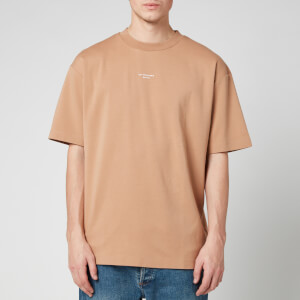 Drôle de Monsieur Men's Nfpm T-Shirt - Taupe