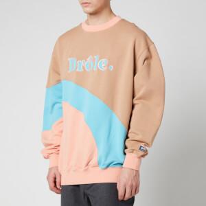 Drôle de Monsieur Men's Drole Sweatshirt - Beige