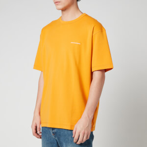 Drôle de Monsieur Men's Logo Classic T-Shirt - Orange
