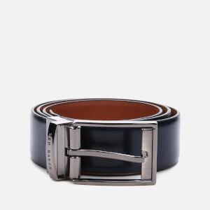 Ted Baker Men's Brentt Reversible Leather Belt - Navy