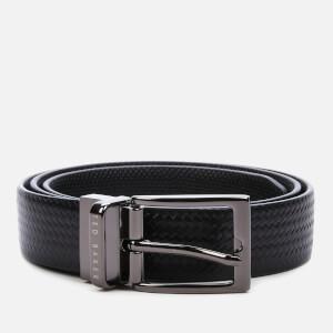 Ted Baker Men's Peckam Reversible Leather Belt - Black