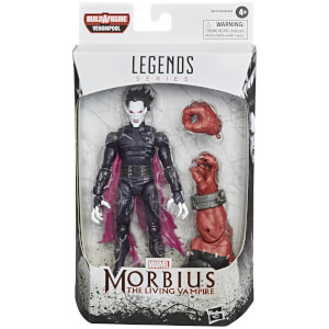 Hasbro Marvel Legends Venom Morbius 6 Inch Action Figure