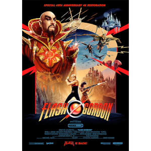 "Flash Gordon ""One Sheet"" Limited Edition A2 Lithograph by Matt Ferguson"