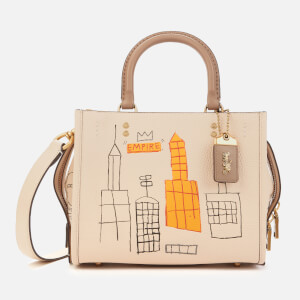 Coach 1941 Women's Coach X Basquiat Mecca Rogue Bag 25 - Ivory