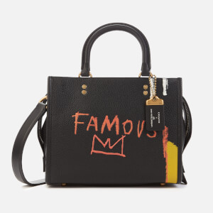 Coach 1941 Women's Coach X Basquiat Famous Crown Rogue Bag 25 - Black
