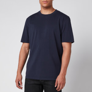 Maison Margiela Men's Garment Dye T-Shirt - Navy
