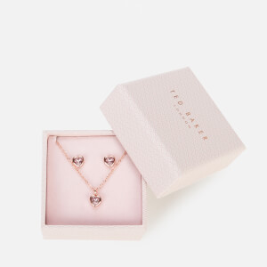 Ted Baker Women's Hadeya: Crystal Heart Gift Set Exclusive - Rose Gold/Light Amethyst