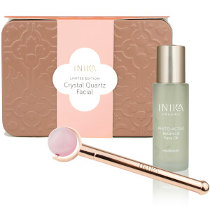 INIKA Crystal Quartz Facial Set