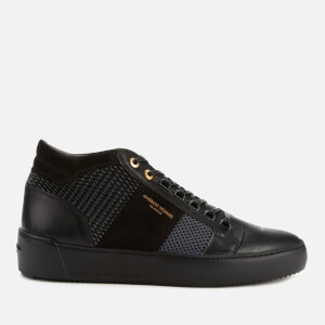 Android Homme Men's Propulsion Mid Geo Gloss Trainers - Black/Grey
