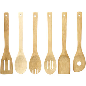 Bamboo Utensil Set - Set of 6