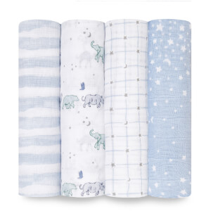 aden + anais Swaddles - Rising Star (4 Pack)
