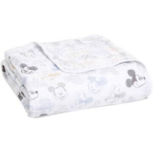 aden + anais Disney Metallic Dream Blanket - Mickey and Minnie