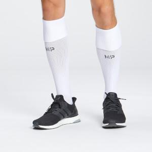 MP Unisex Agility Full Length Socks - White