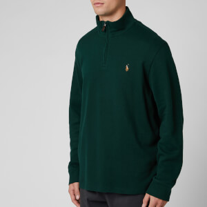 Polo Ralph Lauren Men's Estate Rib Half Zip Pullover - College Green