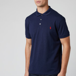 Polo Ralph Lauren Men's Slim Fit Mesh Polo Shirt - Spring Navy Heather