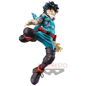 Banpresto My Hero Academia King of Artist-Izuku Midoriya Figure