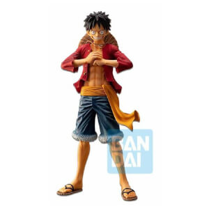 Statuetta Ichibansho  Monkey D. Luffy (The Bonds of Brothers)  - Banpresto