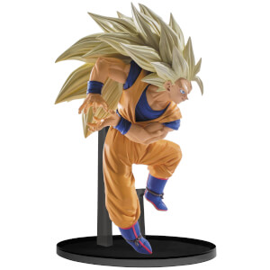 Statuetta Goku Super Saiyan 3 Dragonball Super Scultures Big Budoukai 6 Vol.6 Figure - Banpresto