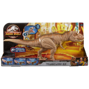 Jurassic World Epic Roar Tyrannosaurus Rex Dinosaur Toy from I Want One Of Those