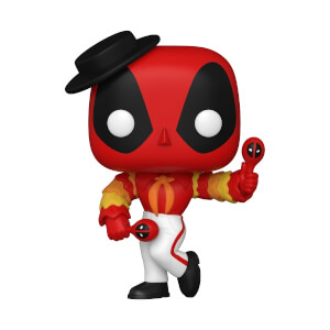 Marvel- Deadpool 30th - Flamenco Deadpool Figura Funko Pop! Vinyl