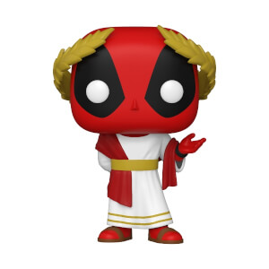 Marvel- Deadpool 30th - Roman Senator Deadpool Figura Funko Pop! Vinyl