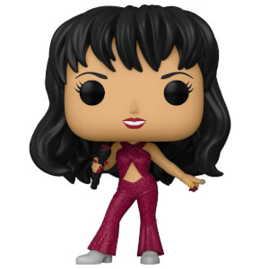 Pop! Rocks Selena (Burgandy Outfit) Pop! Vinyl Figure