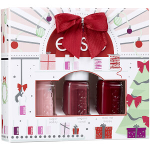 Essie Nail Polish Christmas 2020 Kit Mini Trios