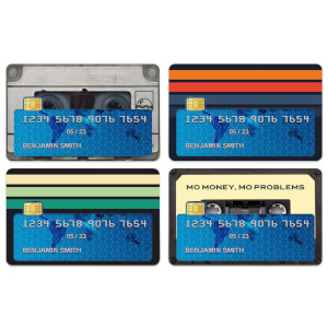 Retro Tapes Credit Card Covers