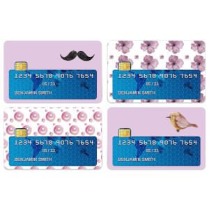 Moustache Credit Card Covers