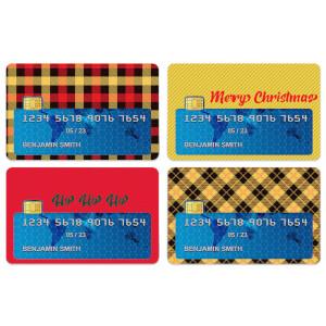 Ho Ho Ho... Credit Card Covers