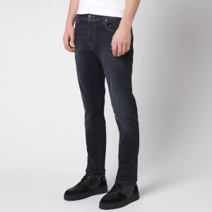 Tramarossa Men's Leonardo Slim 5 Pocket Jeans - Denim Black Stretch
