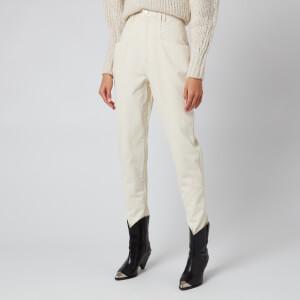 Isabel Marant Women's Nadeloisa Trousers - Ecru