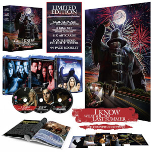 I Know What You Did Last Summer Trilogy Limited Collectors Edition Blu Ray