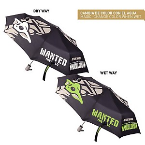 Star Wars: The Mandalorian Mando & The Child (Baby Yoda) Colour Changing Umbrella