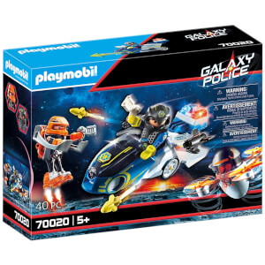 Playmobil Galaxy Police Bike (70020)