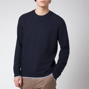 Ted Baker Men's Swetty Textured Sweatshirt - Navy