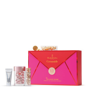 Elizabeth Arden Retinol Ceramide Capsules Serum, 30 Count, 4 Piece Skin Care Gift Set - Worth $85.00