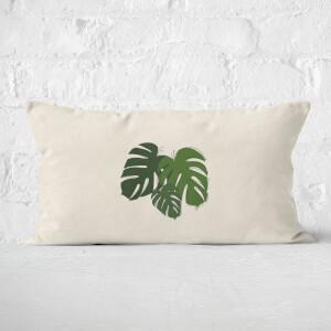 Cheese Plant Leaf Mix Rectangular Cushion