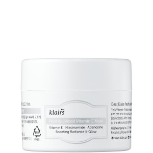 Dear, Klairs Freshly Juiced Vitamin E Mask 15ml