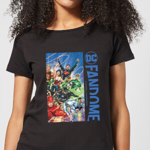 DC Fandome Justice League Women's T-Shirt - Black