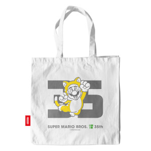 Cat Mario Tote Bag - Super Mario Bros. 35th Anniversary