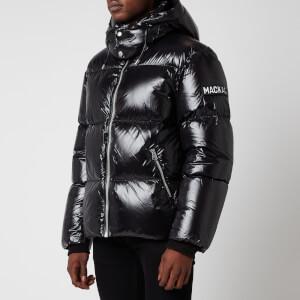 Mackage Men's Kent Medium Down Hooded Jacket - Black