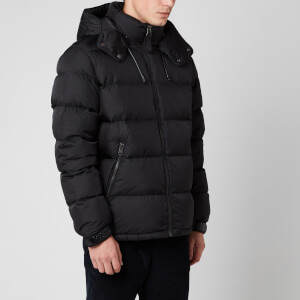 Mackage Men's Jonas Medium Down Hooded Jacket - Black