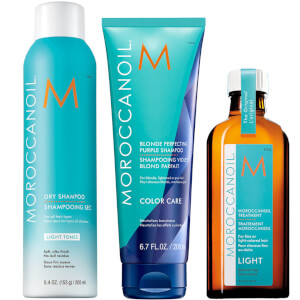 Moroccanoil Light Hair Heroes Bundle (Includes Dry Shampoo Worth £15.45)
