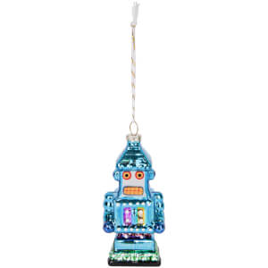 Sunnylife Robot Festive Ornament