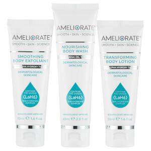 AMELIORATE Smooth Skin Regime Trial Bundle (Worth £23.00)