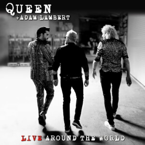 Queen & Adam Lambert - Live Around The World CD/DVD Set