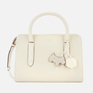 Radley Women's Liverpool St Croc Mini Small Zip Around Multiway - Oyster